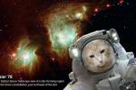 Uno dei selfie possibili con l'app della Nasa dedicata al telescopio spaziale Spitzer (fonte: NASA/JPL-Caltech)