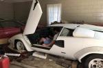 Tre auto da collezione per oltre mezzo milione di dollari erano chiuse da anni in un box