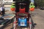 Thailandia - tipico carretto trainato da cavalli, Lampang