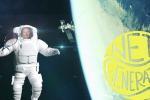 Tutti pronti per la prima partita a tennis nello spazio (fonte: #TMinusNetGeneration)