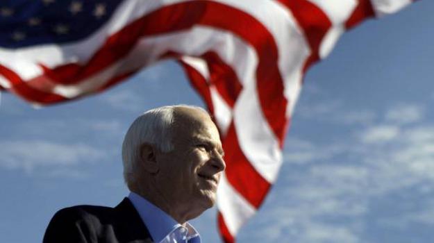 funerali McCain, morto McCain, Donald Trump, John McCain, Sicilia, Mondo