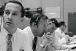 La sala controllo delle missioni Apollo al Johnson Space Center a Houston in una foto d'archivio (fonte: NASA)