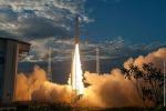 Il lancio del razzo Vega con il satellite europeo Aeolus (ESA/CNES/Arianespace: S. Martin)