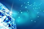 Un diamante blu (fonte: pixabay)