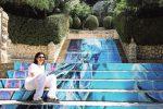 Arianna Maggio sulla scalinata di Venere