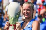 Tennis, sorpresa Bertens: batte Halep e trionfa a Cincinnati