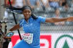 Daisy Osakue in gara agli Europei di atletica a Berlino