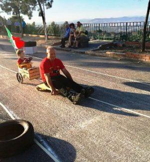 A Centuripe l'unica gara ecologica con carrozze di legno su cuscinetti a sfera in Sicilia