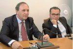 Da sinistra il sindaco Nino Naso e il vice sindaco Ezio Mannino (Foto Caruso)
