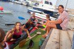Palermo, alla Tecnonaval Team Canoa la visita di Fabiana Sgroi