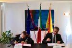 Firmato accordo tra la Regione e i carabinieri per la tutela del demanio marittimo e delle acque