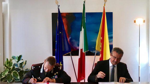 Accordo demanio Sicilia Regione, Sicilia, Politica