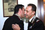 Il generale Galletta saluta la Sicilia, il commiato con il colonnello Di Stasio
