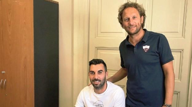 Calcio, serie c, trapani calcio, Desiderio Garufo, Matteo Kucich, Trapani, Calcio
