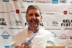 """Chef palermitano vince il """"Gelato Festival America"""" con un sorbetto al puro cacao"""