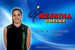 Gloria Scimone e il Messina Volley insieme per il quinto anno di fila