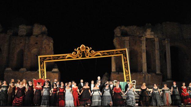 la traviata, Mythos Opera Festival, teatro antico di taormina, Messina, Cultura