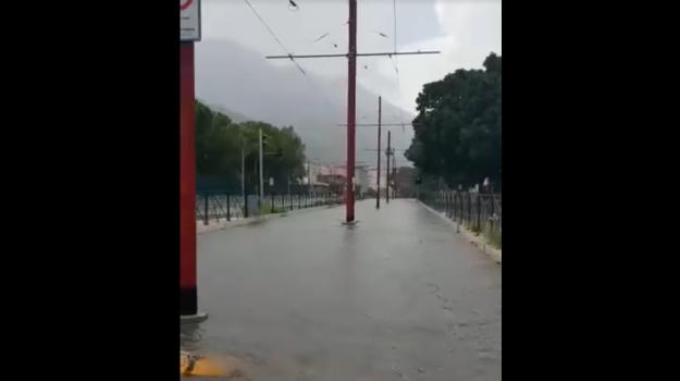 maltempo palermo, pioggia allagamenti palermo, Palermo, Cronaca