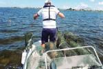 Marsala, sequestrate ventiquattro nasse per la cattura dei pesci