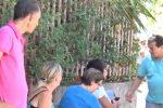 Presidio contro le case ai rom a Palermo, le immagini da via Felice Emma
