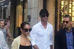 Ronaldo fa shopping a Milano: il fuoriclasse in via Montenapoleone con la fidanzata Georgina