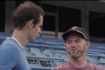 Rooney si allena con... Andy Murray!