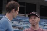 Rooney si allena con... Andy Murray!
