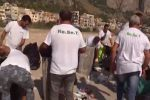 Rifiuti, 9 tonnellate rimosse dalle spiagge palermitane