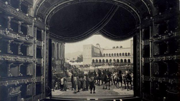 teatro massimo sipario volotea, Palermo, Cultura