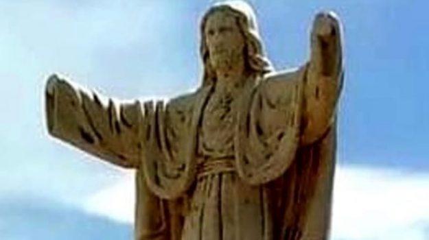 statue sacre vandalizzate favara, Agrigento, Cronaca