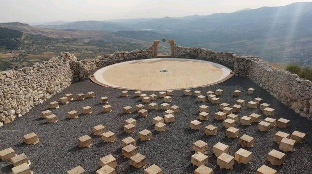 santo stefano quisquina, teatro andromeda, Agrigento, Cultura