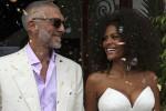 Vincent Cassel e Tina Kunakey sposi a Bidart