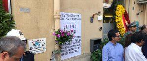 Palermo ricorda Libero Grassi a 27 anni dall'omicidio: figli e autorità in via Alfieri