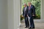 Jean-Claude Juncker e Donald Trump alla Casa bianca