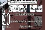 Le Vie del Suono, concerti in Appennino