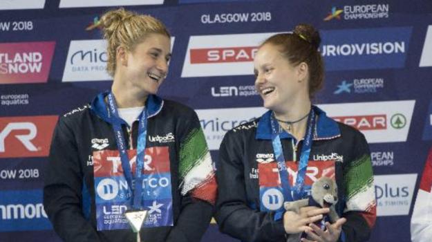 Italia europei nuoto tuffi, Elena Bertocchi e Chiara Pellacani, Sicilia, Sport