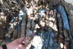 Bombe da mortaio bonificate a Salemi