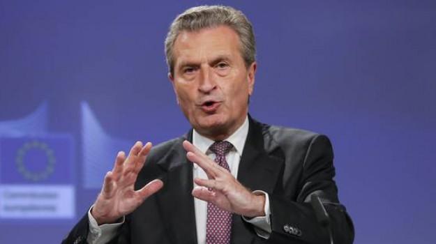 commissario Ue, contributi ue, Guenther Oettinger, Luigi Di Maio, Sicilia, Mondo