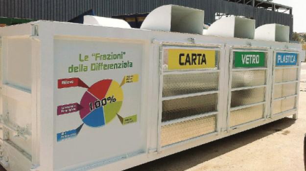 centro raccolta rifiuti castellammare, Trapani, Economia
