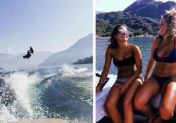 Il wakeboard è una disciplina che unisce lo sci nautico e lo snowboard