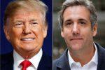 Donald Trump e il suo ex avvocato Cohen
