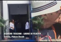 Il debutto di Oliviero Toscani al Palazzo Ducale di Genova