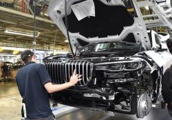 La produzione del nuovo X7 è già iniziata nello stabilimento Bmw in South Carolina, negli Usa