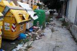 Degrado nella zona di via Eugenio L'Emiro