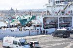 La nave Diciotti a Catania