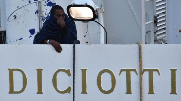 migranti, nave diciotti, Sicilia, Cronaca
