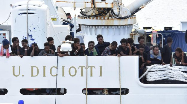 caso nave diciotti, Matteo Salvini, Sicilia, Cronaca