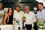 Ospite del Mercatino anche il giornalista Antonio Caprarica (secondo da destra)