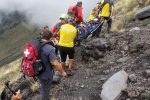 Etna, escursionista si infortuna a quota 2.200 metri: salvato dal soccorso alpino