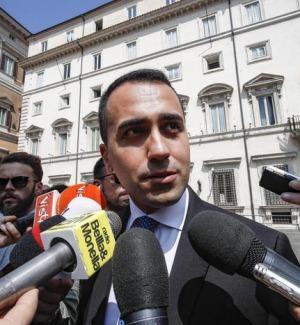 Il vicepremier, Luigi Di Maio